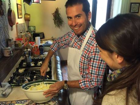 Cooking in Naples with Francesco Civita Napoli